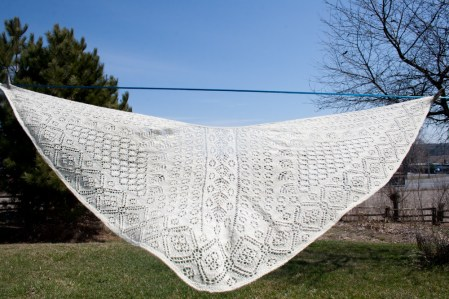 Handknit Heirloom Lace