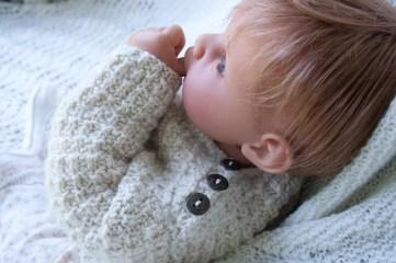 alpaca_pullover-baby sweater handknit