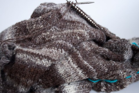 handspun handknit wool sweater-winter-roads-8847