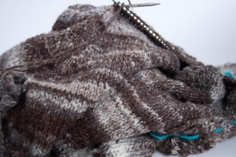 handspun handknit wool sweater-winter-roads-8847