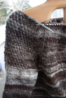 handspun handknit wool sweater-winter-roads-8850
