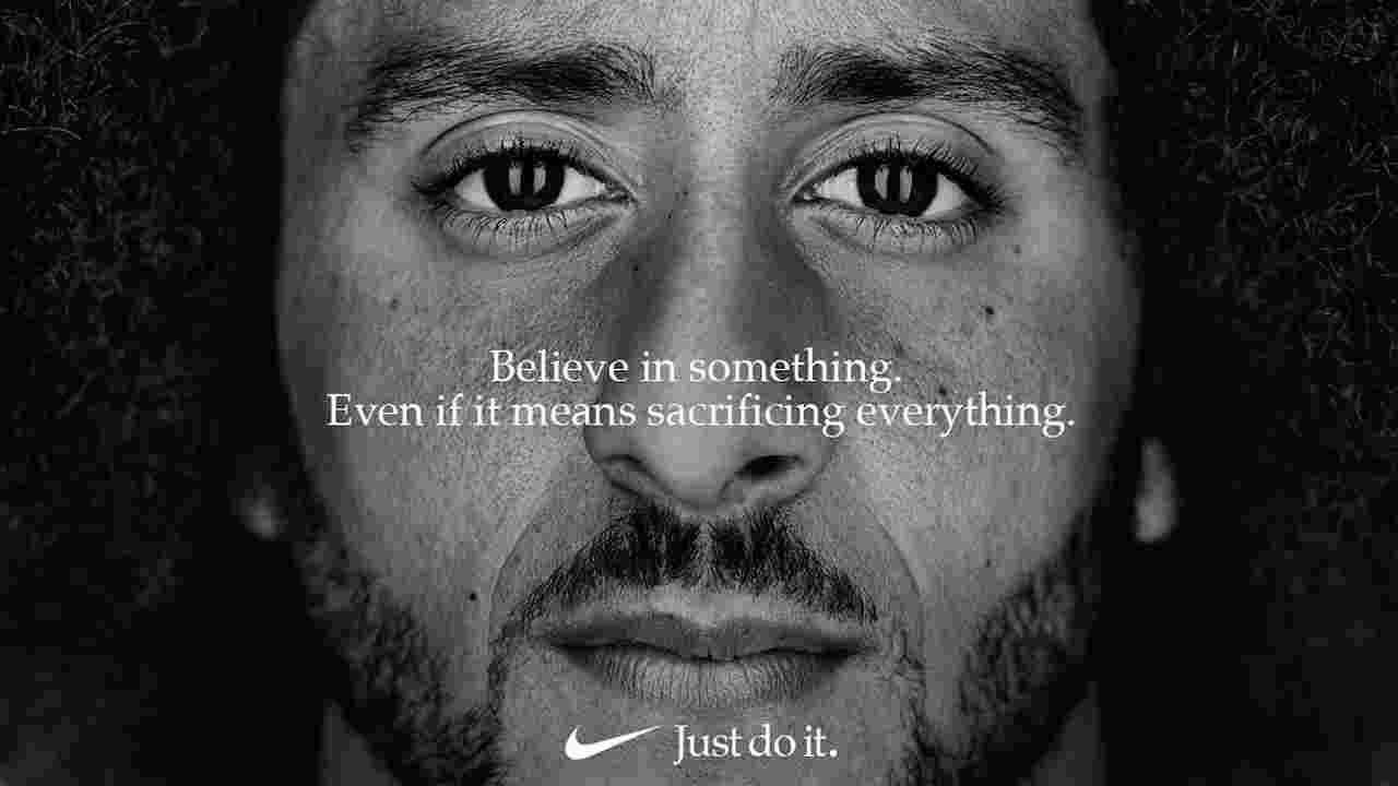 la nouvelle campagne de Nike avec Colin Kaepernick