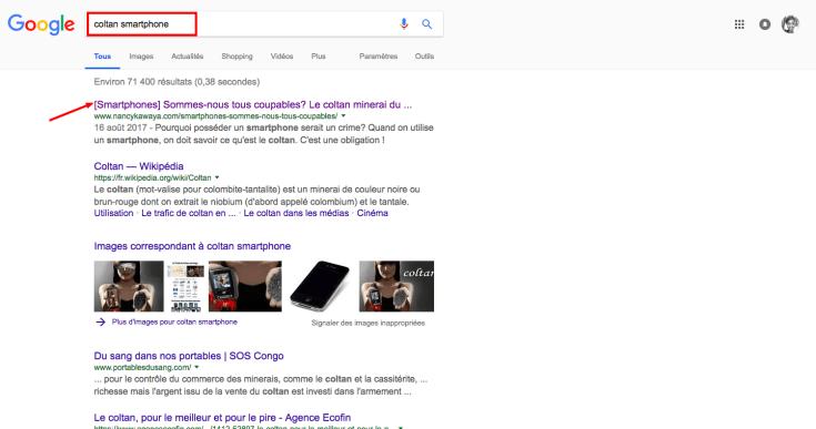 coltan smartphone - Recherche Google