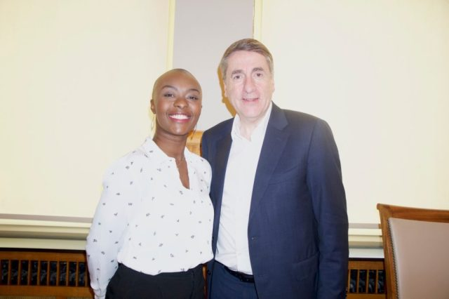 Olivier Maingain et Nancy Kawaya