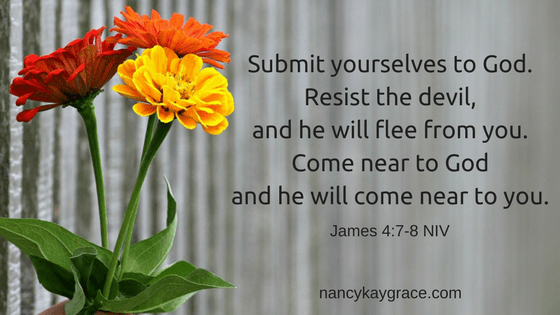 James 4:7-8 conflict resolution