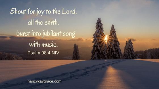 Ps 98:4 linger longer on joy