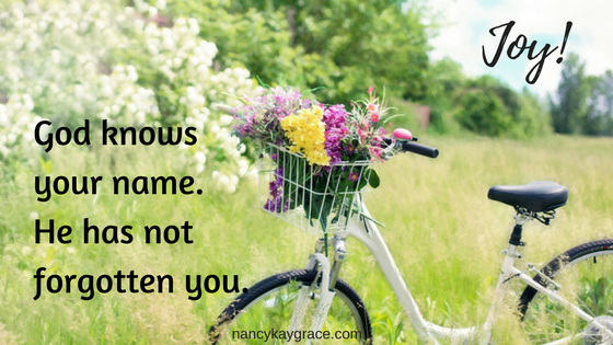 Joy - God knows you