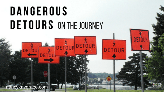 Dangerous Detours on the journey