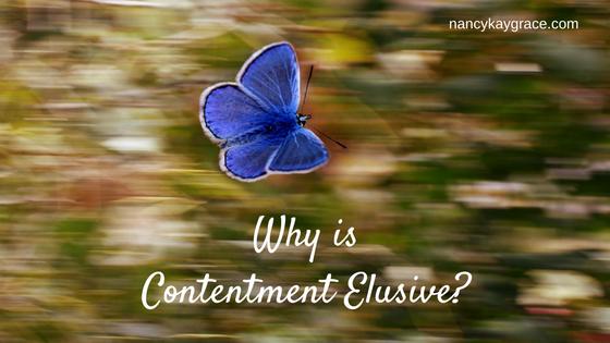 elusive contentment