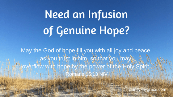 Infusion of Hope