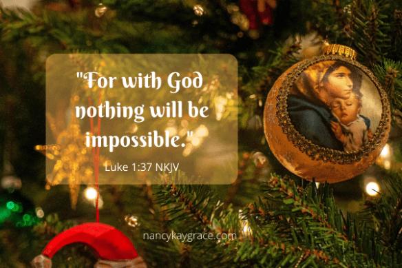 Luke 1:37 Deep Trust