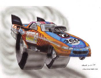 Nancy Matter Racing Top Alcohol Funny Car