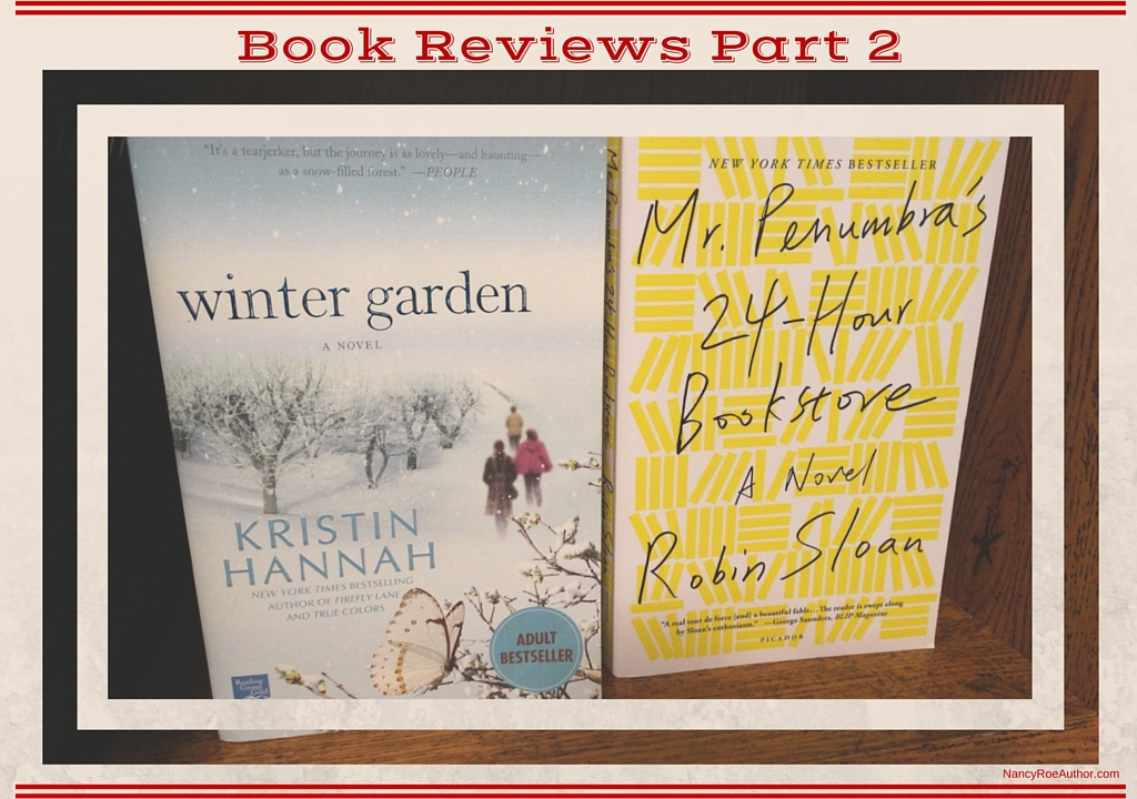 Book Reviews Part 2