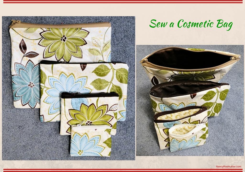 Sew a Cosmetic Bag