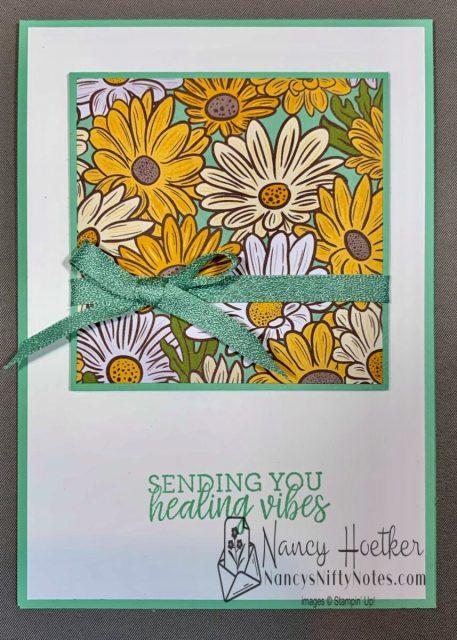 Stampin' Up! Ornate Garden 6 x 6 One Sheet Wonder Cards 3