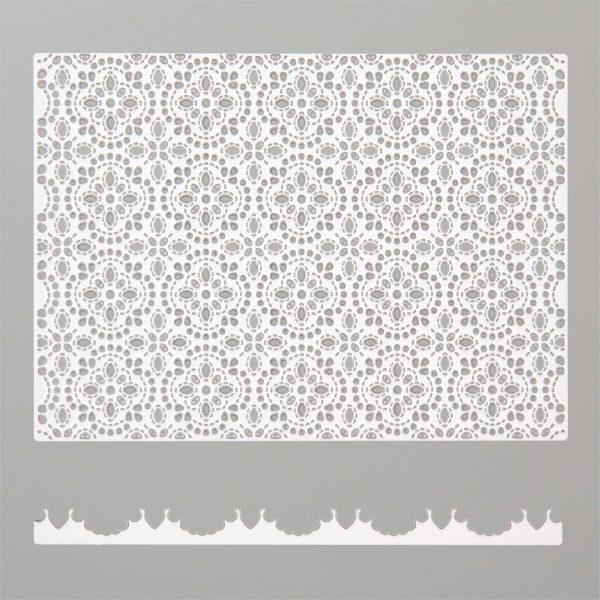 stitched lace 6
