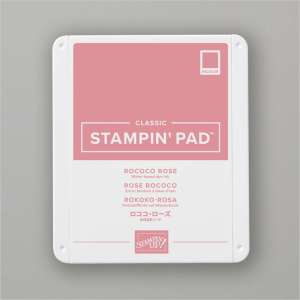 Rococo Rose Ink Pad and Refill 3