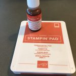Terracotta Tile Ink Pad and Refill 1