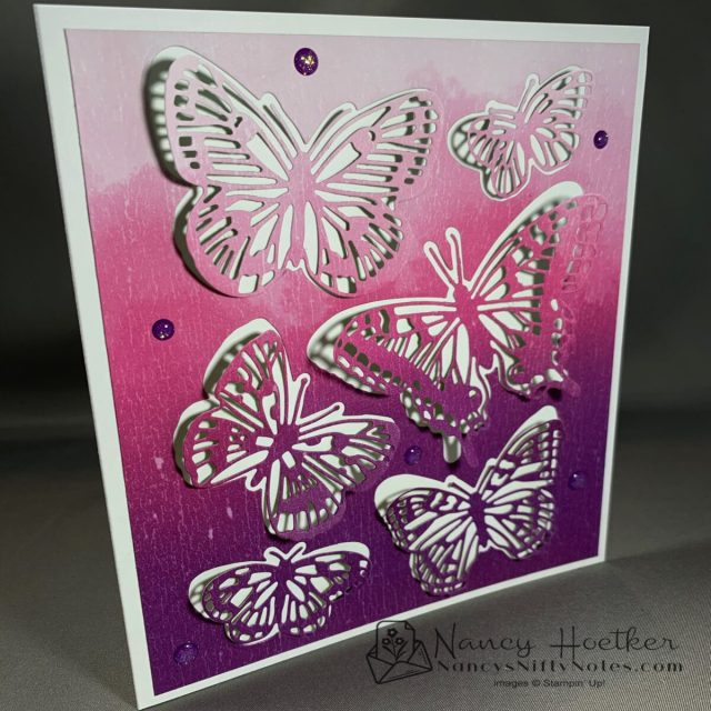 First Play with Butterfly Brilliance by Stampin' Up! 5