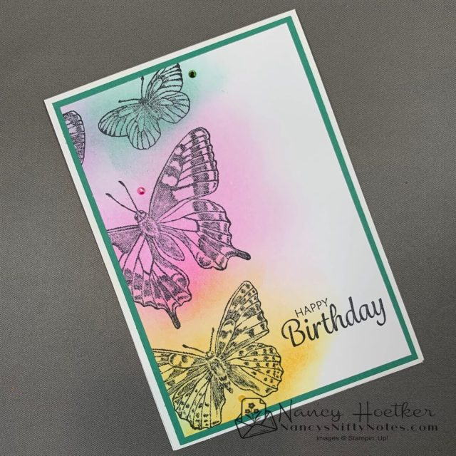 First Play with Butterfly Brilliance by Stampin' Up! 1