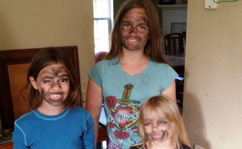 Sooty Makeup