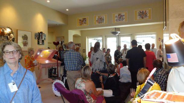 CAC Salon at Nancy's studio