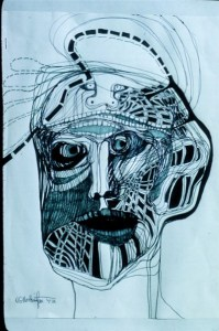 Cryptographic Self Box Drawing 2