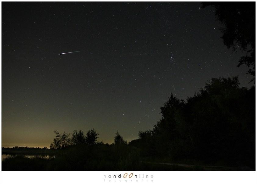 Vallende sterren fotograferen - wie kan ze in de foto ontdekken?