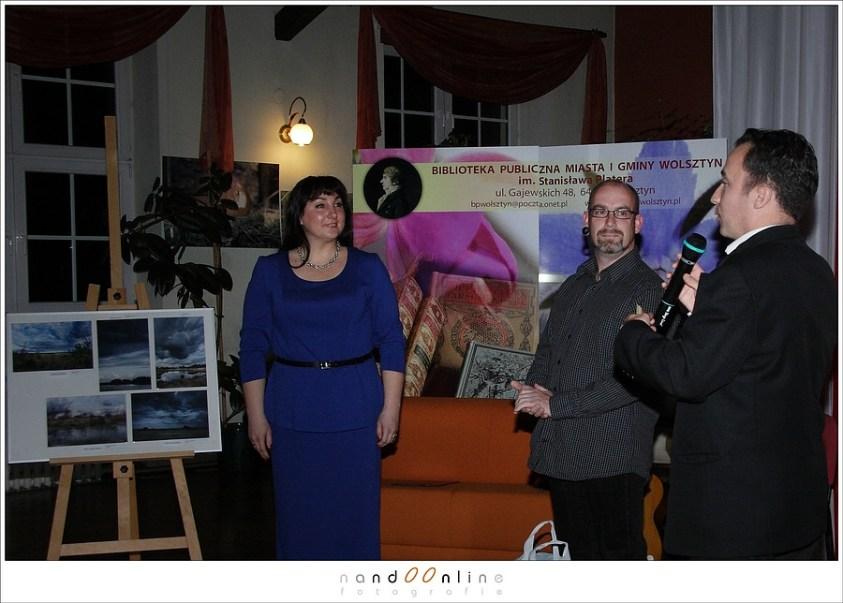 Opening expositie in Wolsztyn Polen