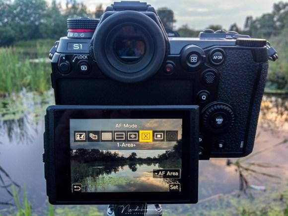 Het scherpstellen van een foto met de Panasonic DC-S1