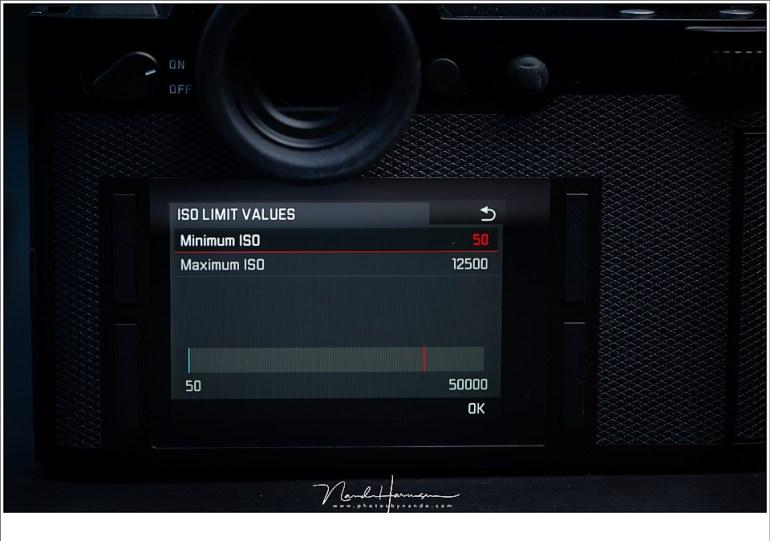 ISO schaal van een Leica SL gaat tot maar liefst ISO50.000. Sommige camera's gaan nog verder. Maar dit betekent niet dat het bruikbare foto's oplevert.