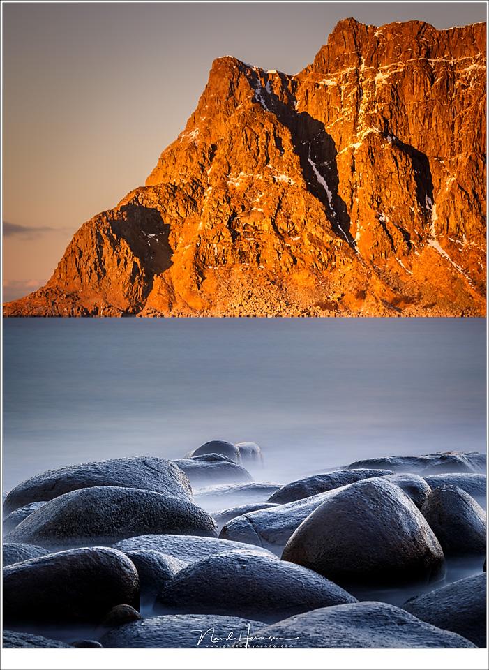 Hoe kies je het juiste grijsfilter voor jouw foto? - een lange sluitertijd voor een strakke zee