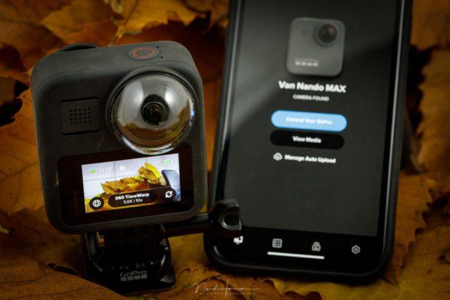 De GoPro MAX is voornamelijk voor 360° filmen geschikt