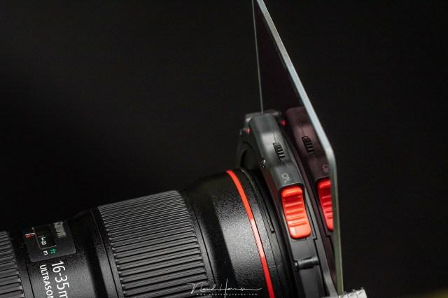 Het drop-in filter kan gewoon vervangen worden zonder een ander filter te verwijderen.
