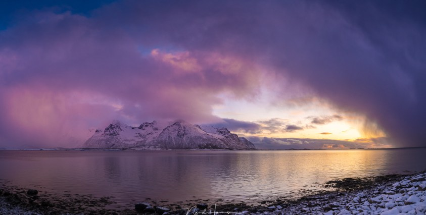 winter op lofoten - polar low