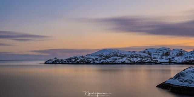 Review van het Haida M10 filtersysteem tijdens winter op lofoten