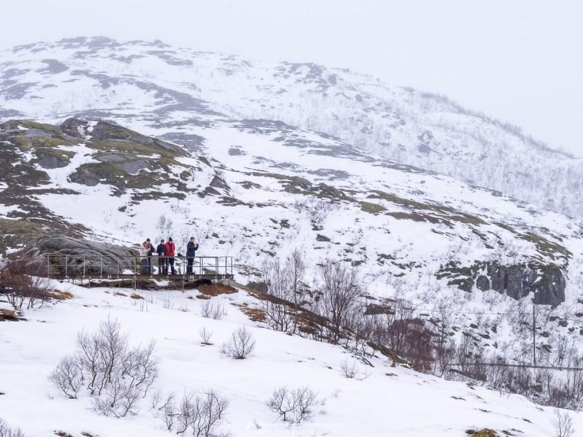 Uitzicht over de fjorden