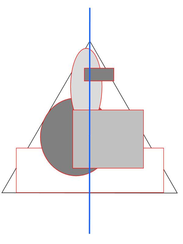 compositieleer; een piramide compositie