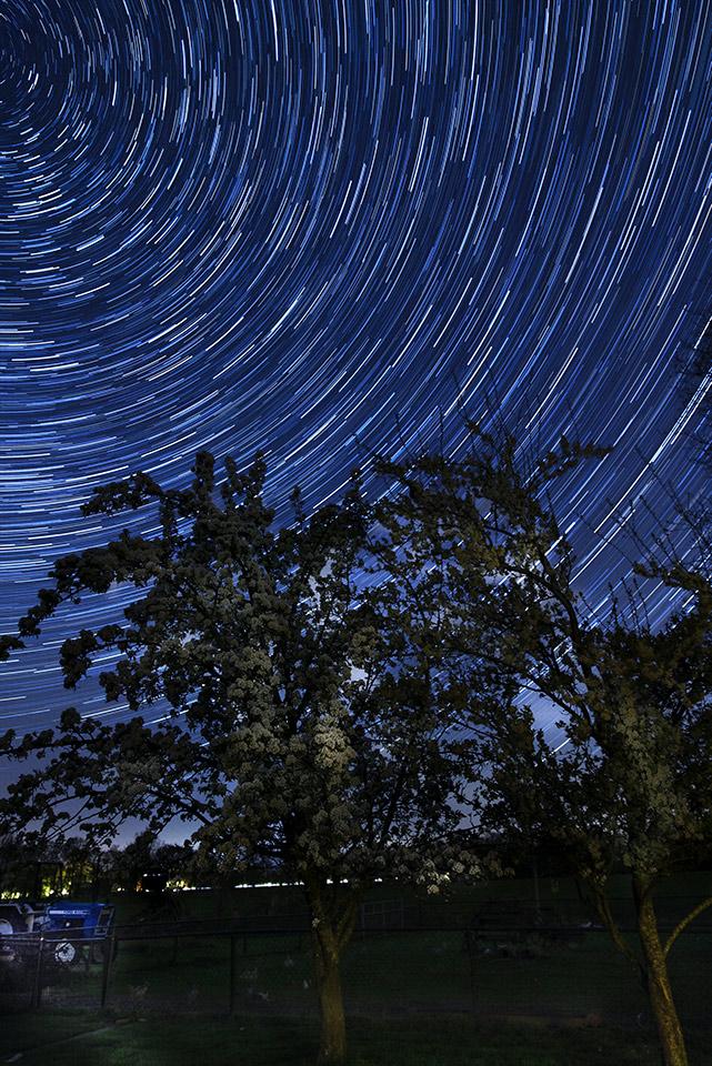 De mooiste sterrensporen van de afgelopen weken - door Froukje