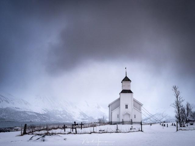 De kerk van Gimsoy