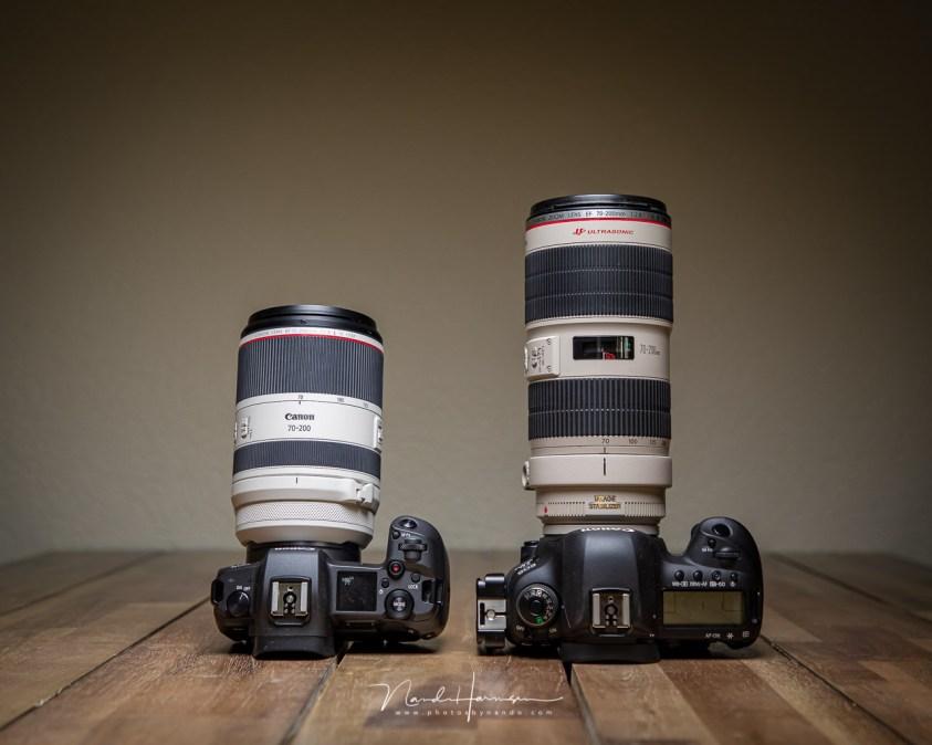 Het andere uiterlijk van de Canon RF 70-200mm f/2,8L IS USM