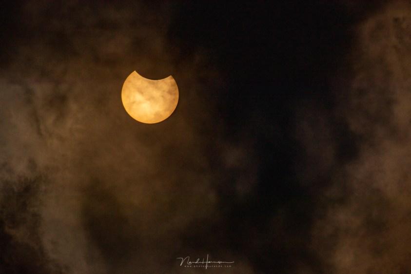 Zo fotografeerde ik de zonsverduistering