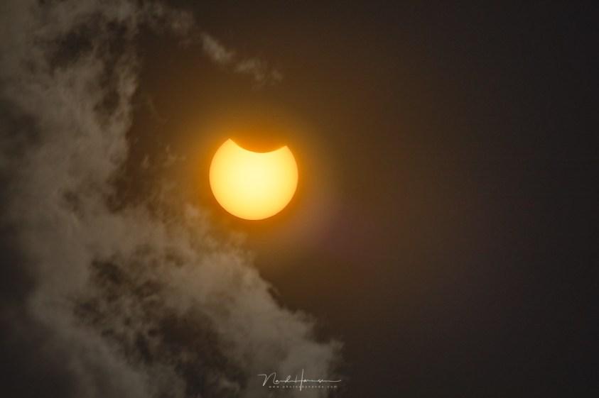 Hoe ik de zonsverduistering fotografeerde