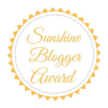 www.nandyzsoulshine.com, Sunshine Blogger Award