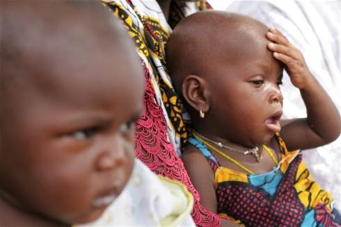 Infants in a Burkinabe village  Photo: Nancy Paulus/IRIN