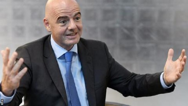 Infantino says the World Cup is  a social event