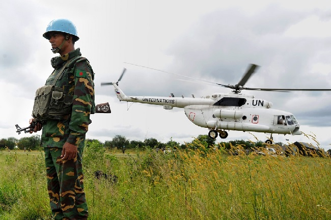Bangladeshi peacekeeper in South Sudan, Credit: UNMISS