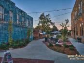Tanglefoot plaza, New Albany MS