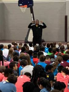 New Albany MS NAES Coleman visit