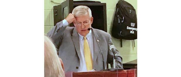 New Albany MS UCDA Banquet speaker Bill Crawford
